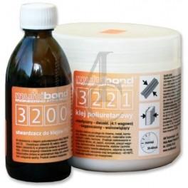 Multibond 3221 (600g) klej poliuretanowy 4:1, 2sk.